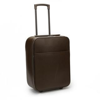 Louis Vuitton Taiga Leather Brown Rolling Pegase 45
