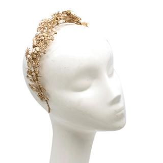 Carolina Chammas Gold Aura Headband