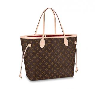 Louis Vuitton Neverfull MM Monogram Bag