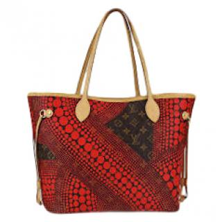 Louis Vuitton Yayoi Kusama Monogram Waves Neverfull MM Bag