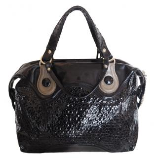 Pauric Sweeney Patent Leather Large Day Tote