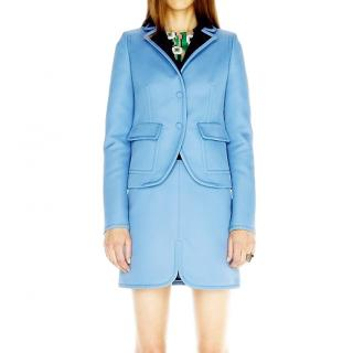 Balenciaga Pam Am Blue Tailored Blazer