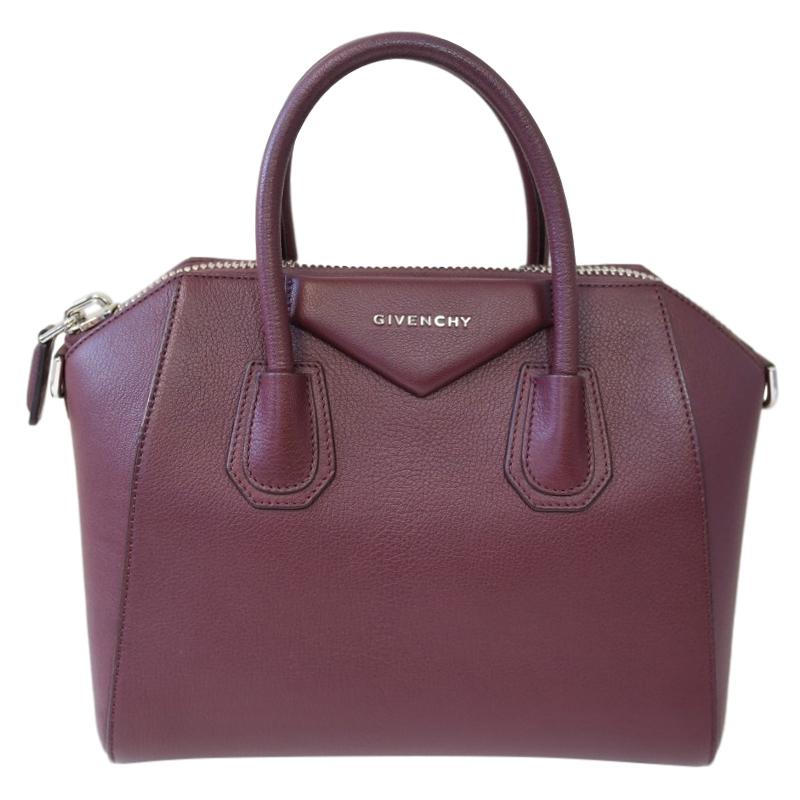 Givenchy Burgundy Antigona Bag