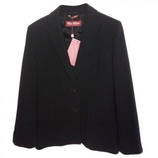 Max Mara Tailored Black Blazer