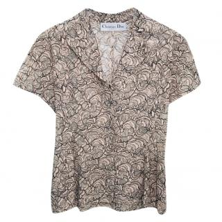 Dior Floral Lace Top