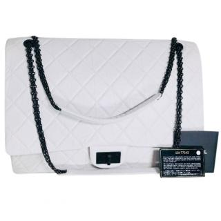 Chanel White Leather Reissue 2.55 Bag