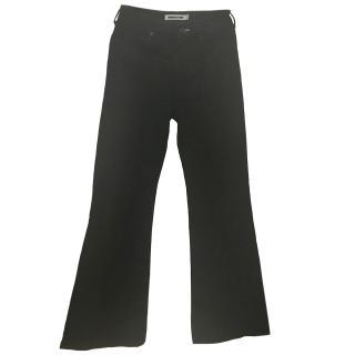 McQ Black Bootcut Jeans
