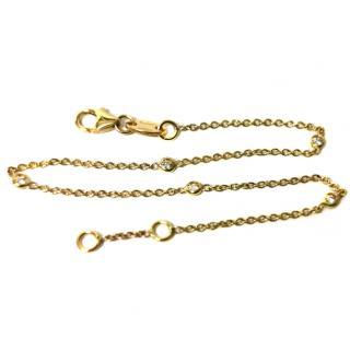 Bespoke Five Diamond Chain Bracelet