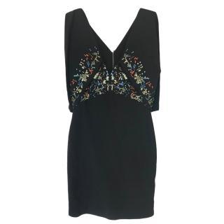 Antonio Berardi Black Embellished Mini Dress