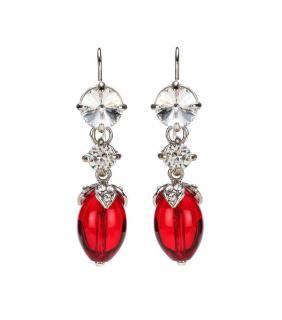 Miu Miu Crystal Drop Earrings
