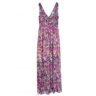 Blugirl Sleeveless Floral Maxi Dress
