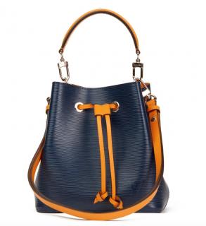 Louis Vuitton Epi Leather Blue & Yellow Neo Neo BB Bag