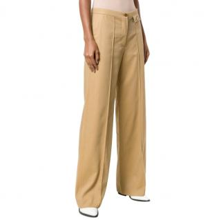 See By Chloe Flared Front Crease Trousers