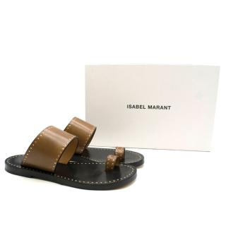 Isabel Marant 10mm Jeppya Leather Sandals
