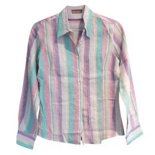 Thomas Pink Linen Blouse