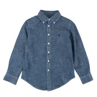 Ralph Lauren Boys Cotton Denim Shirt