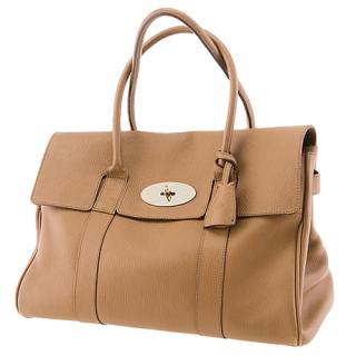 Mulberry Deer Brown Soft Grain Leather Bayswater Bag