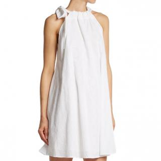 Kalita Charlie embroidered cotton tunic dress