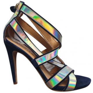 Aperlai Reflective Leather Sandals