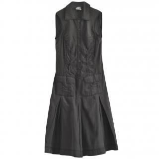 Philosophy di Alberta Ferretti Grey Shirt Dress