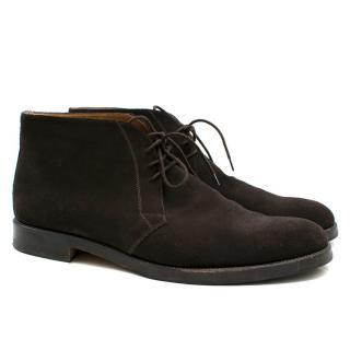 Stemar Ravenna Dark Brown Wide Chukka Boots