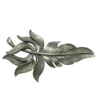 Oscar De La Renta Vintage Leaf Brooch