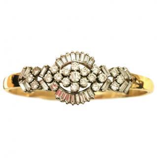 Bespoke 2.83ct Diamond Set Gold Bracelet