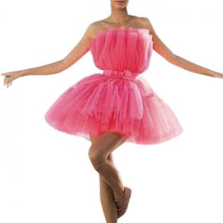 Giambattista Valli x H&M Pink Flared Tulle Dress