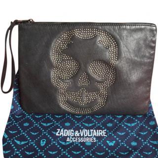 Zadig & Voltaire Skull Clutch Bag