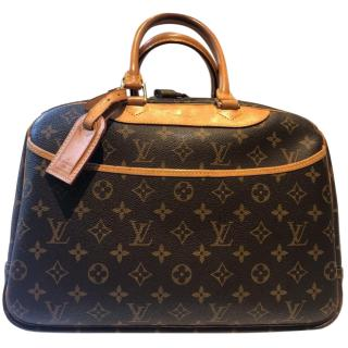 Louis Vuitton monogram deauville beauty case