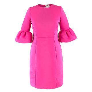 Alice by Temperley Bubblegum Pink Bell Sleeve Dress