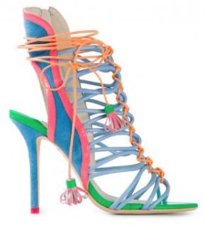 Sophia Webster Neon Lacey Sandals