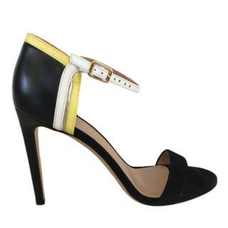 Salvatore Ferragamo Leather & Suede Sandals
