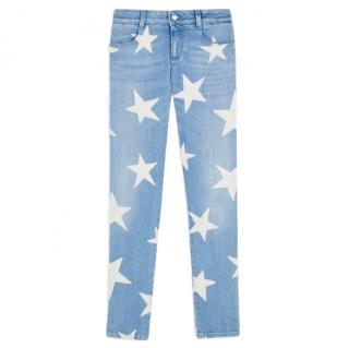 Stella McCartney Skinny Ankle Grazer Star Jeans