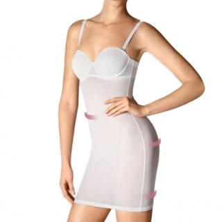 Wolford White Stretch Forming Dress