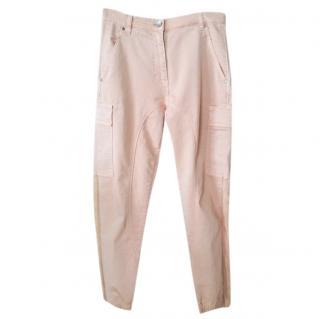Twin-Set by Simona Babieri Pink Cargo Pants