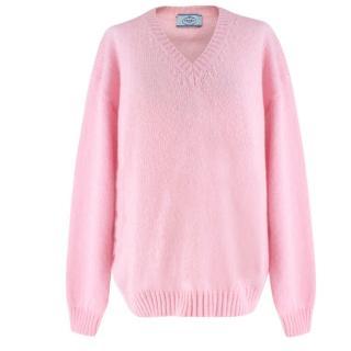Prada Baby Pink Knit Sweater
