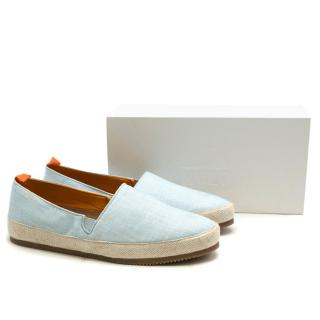 Mulo Men's Light Blue Espadrilles