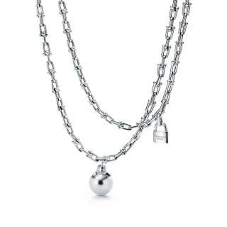 Tiffany & Co. City HardWear Wrap Silver Necklace