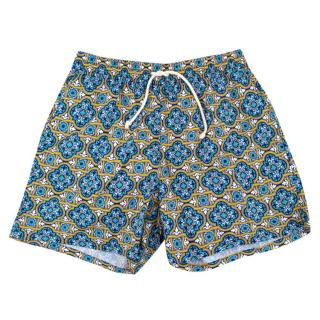 Ripa & Ripa Milano Patterned Swim Shorts