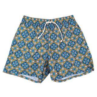 Ripa & Ripa Milano Patterned Swim Shorts