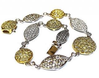 Michael Spiers Pave Diamond 3ct Bracelet