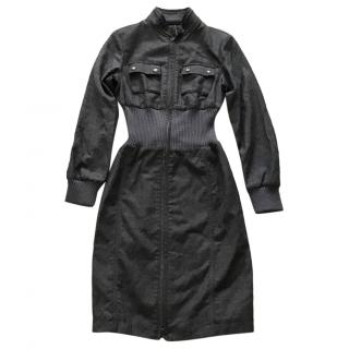 Belstaff Charcoal Military Dress