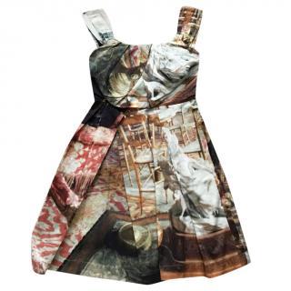 Vivienne Westwood Anglomania Printed Sleeveless Dress