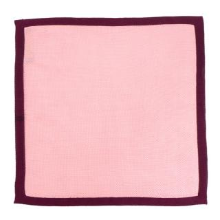 Richard James Bespoke Pink Pocket Square