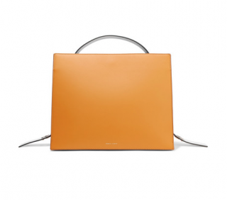Danse Lente young leather tote bag