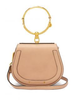 Chloe Beige Nile Shoulder Bag
