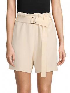 Brunello Cucinelli Chiffon Belted Shorts