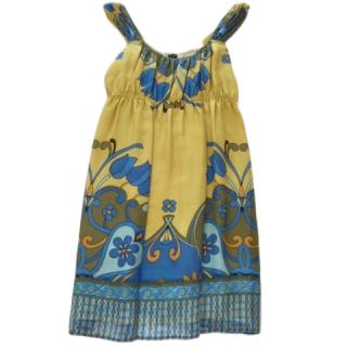 Joseph Silk Printed Summer Dress