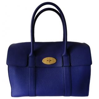 Mulberry Deep Blue Bayswater Bag